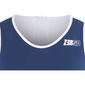 Z3R0D Racer Traje Triatlón Hombre, azul/blanco